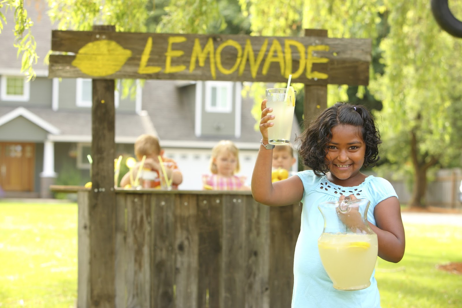 Do Parents Pay For A Kid S Lemonade Stand