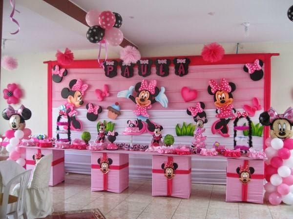 MuyAmeno.com: Fiestas Infantiles Decoradas con Minnie Mouse, parte 2