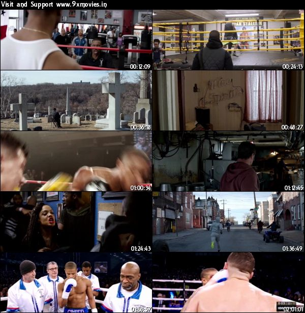 Creed 2015 English DVDScr 800mb