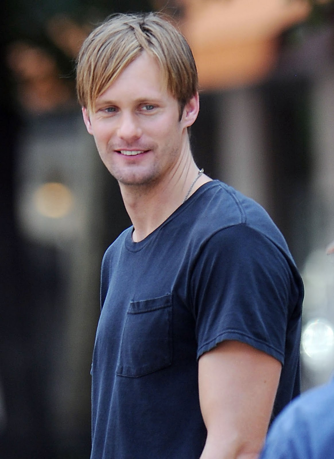 Skarsplattzing Adorable Photos Of Alex Skarsgard On The
