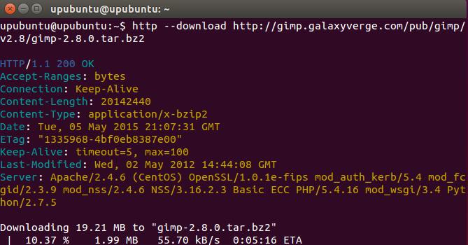 HTTPie: A Command Line File Downloader (Wget/Curl Alternative) for