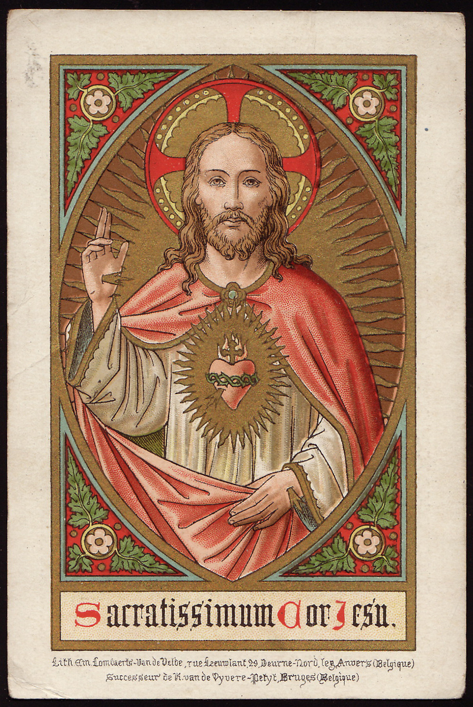 Most Sacred Heart of Jesus dans immagini sacre Most+Sacred+Heart+of+Jesus.+Bruges