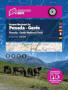 Mapa do Parque Nacional Peneda-Gerês