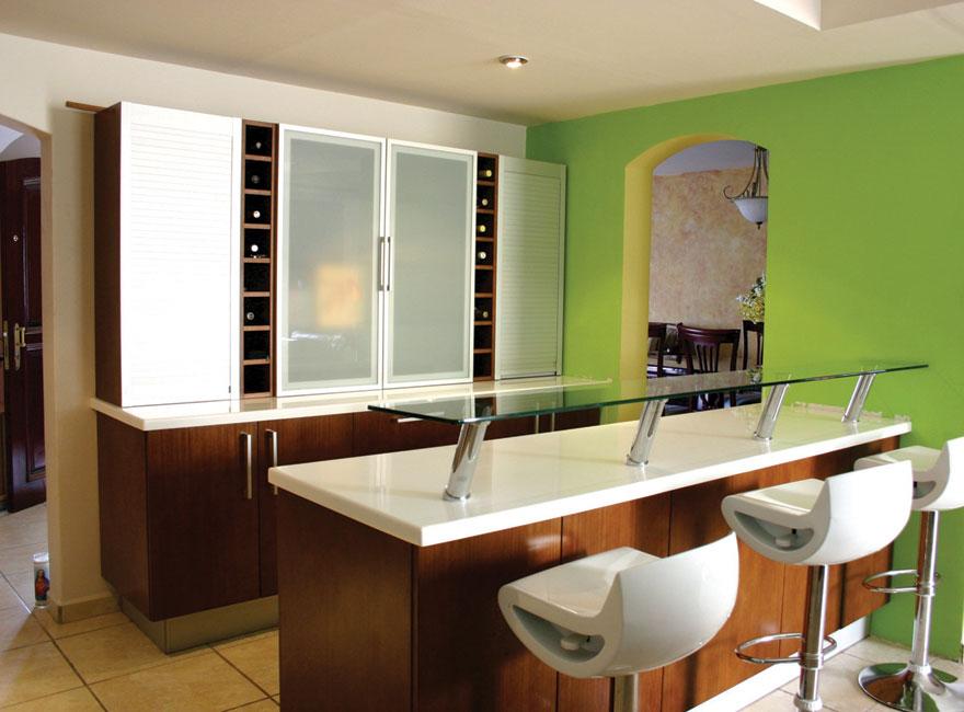 Formas almacen de cocinas elegir una barra para cocina for Barras para cocinas integrales