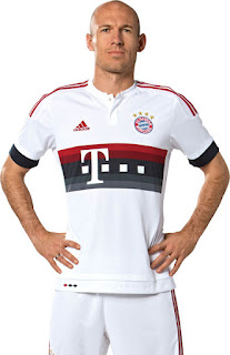gamabr desain jersey musim depan kualitas grade ori Jersey Bayern Munchen away terbaru musim depan 2015/2016di enkosa sport
