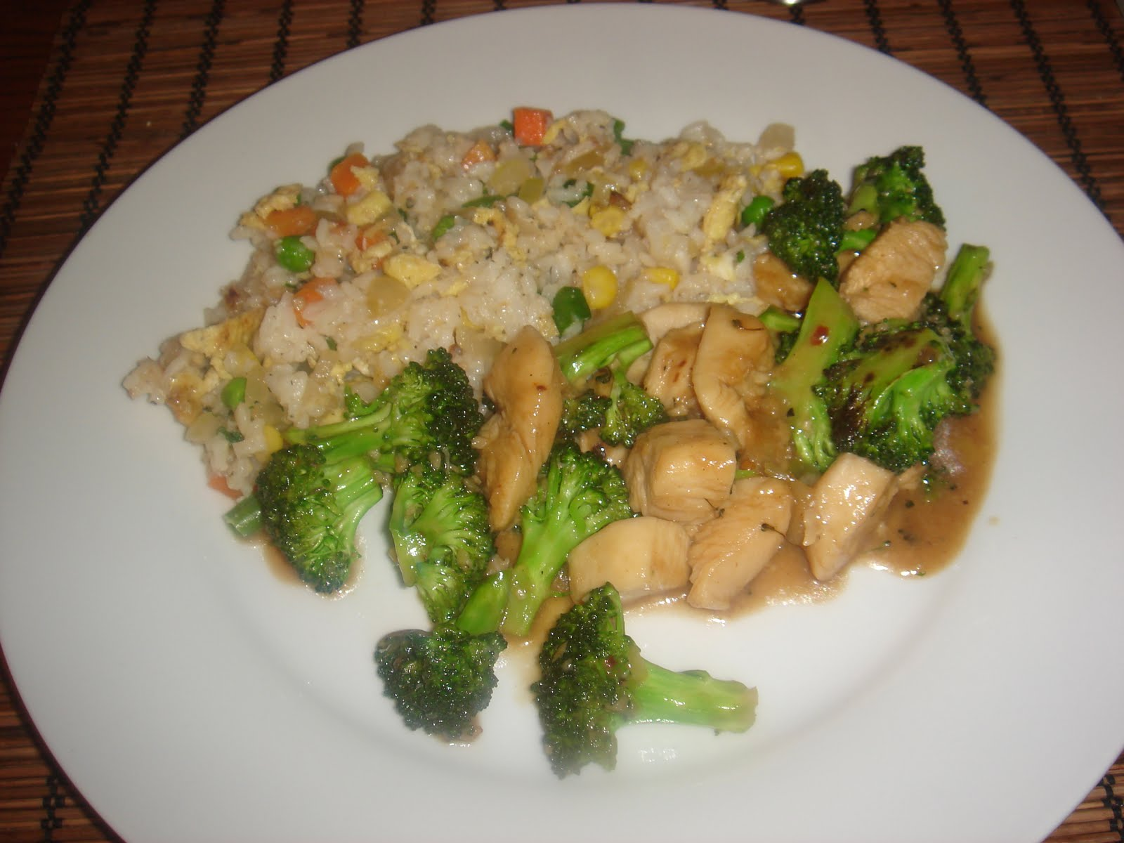 The New Chef's Journal: Chinese chicken and broccoli
