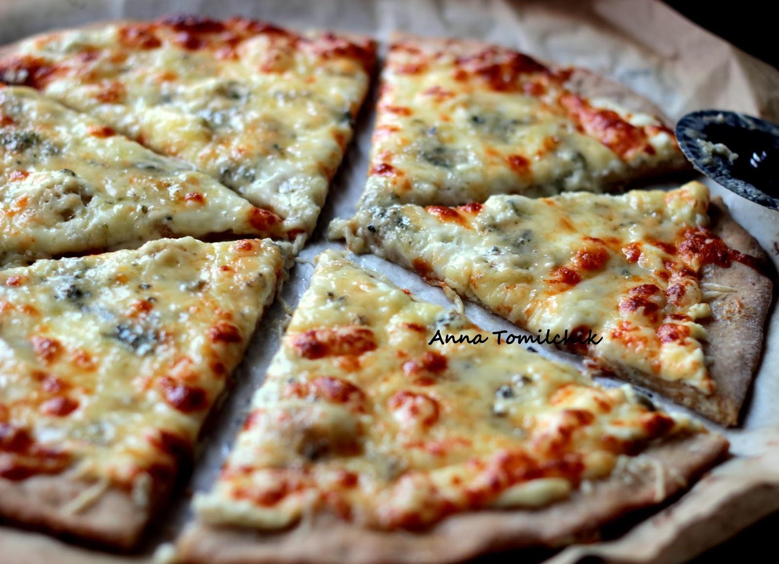 тесто для пиццы из цельнозерновой муки без дрожжей