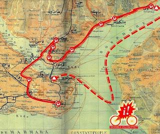 Velonette Istanbul 2013 ποδηλατικός - πολιτιστικός γύρος