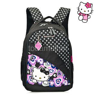 Mochilas escolares femininas da Hello Kitty