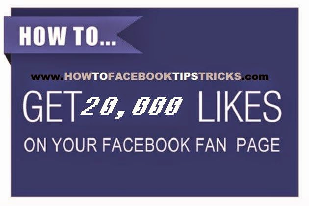 How to get 20,000 Facebook Page Like image picture