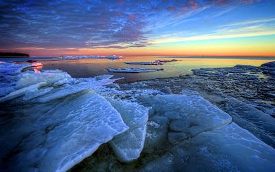 Mar congelado
