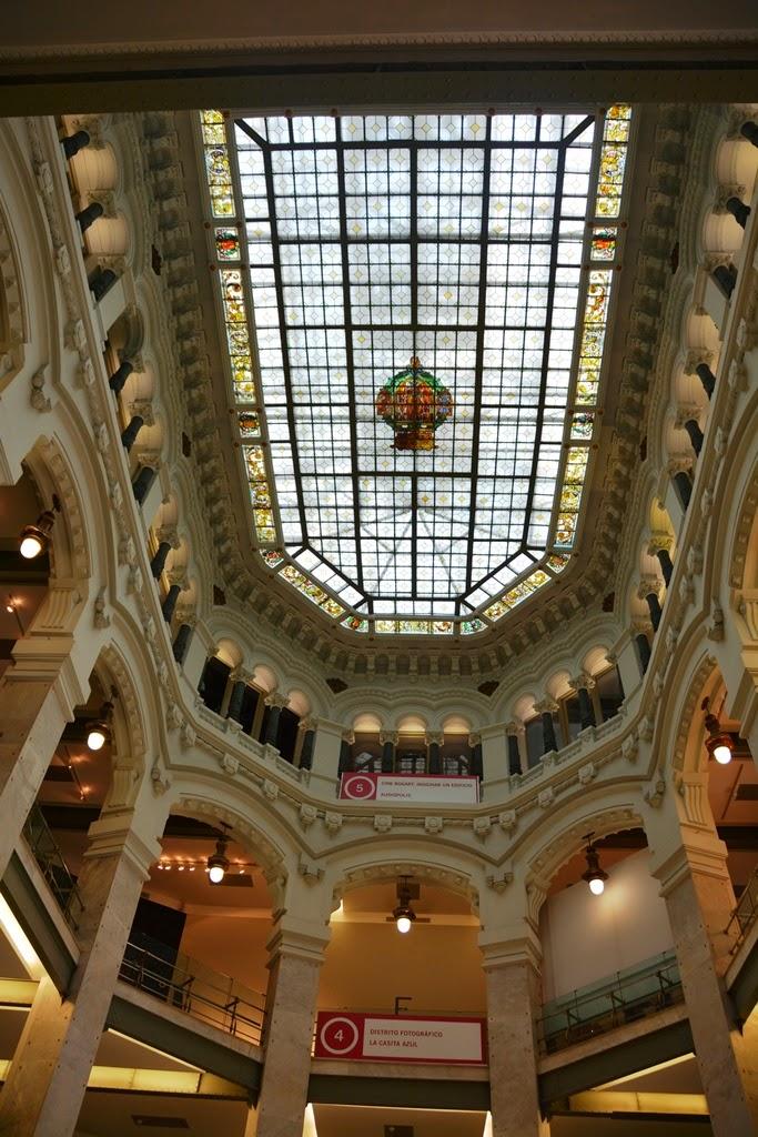 Cibeles Palace Madrid glass ceiling
