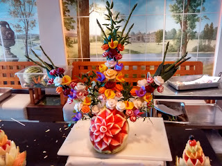 Flower Fruit Carvings by Mark Fitzgerald