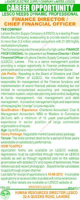 LESCO Lahore Job