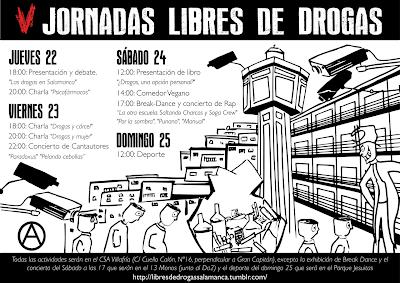 Programa V Jornadas Libres de Drogas