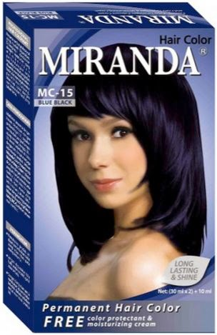 Review Miranda Hair Color Blue Black