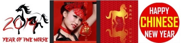 Happy Chinese New Year 2014 Pictures sexy girl horse logo
