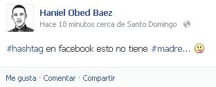 estado hashtg facebook