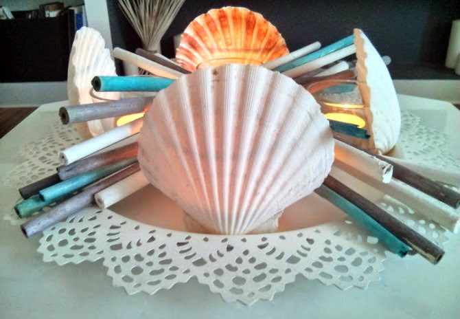diy shell illuminant for summer