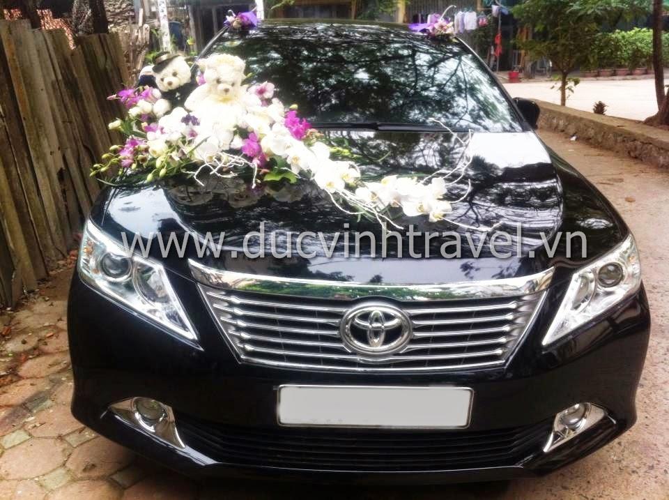 Cho thuê xe cưới Toyota Camry 2.5G hạng sang