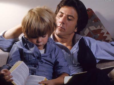 Ted junto a su hijo.