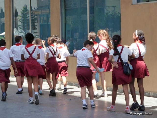 La Havane  - écoliers