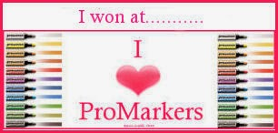 I won at I Love Pro-Markers - March 2014