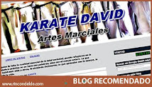 -KARATE DAVID- UN BLOG RECOMENDADO