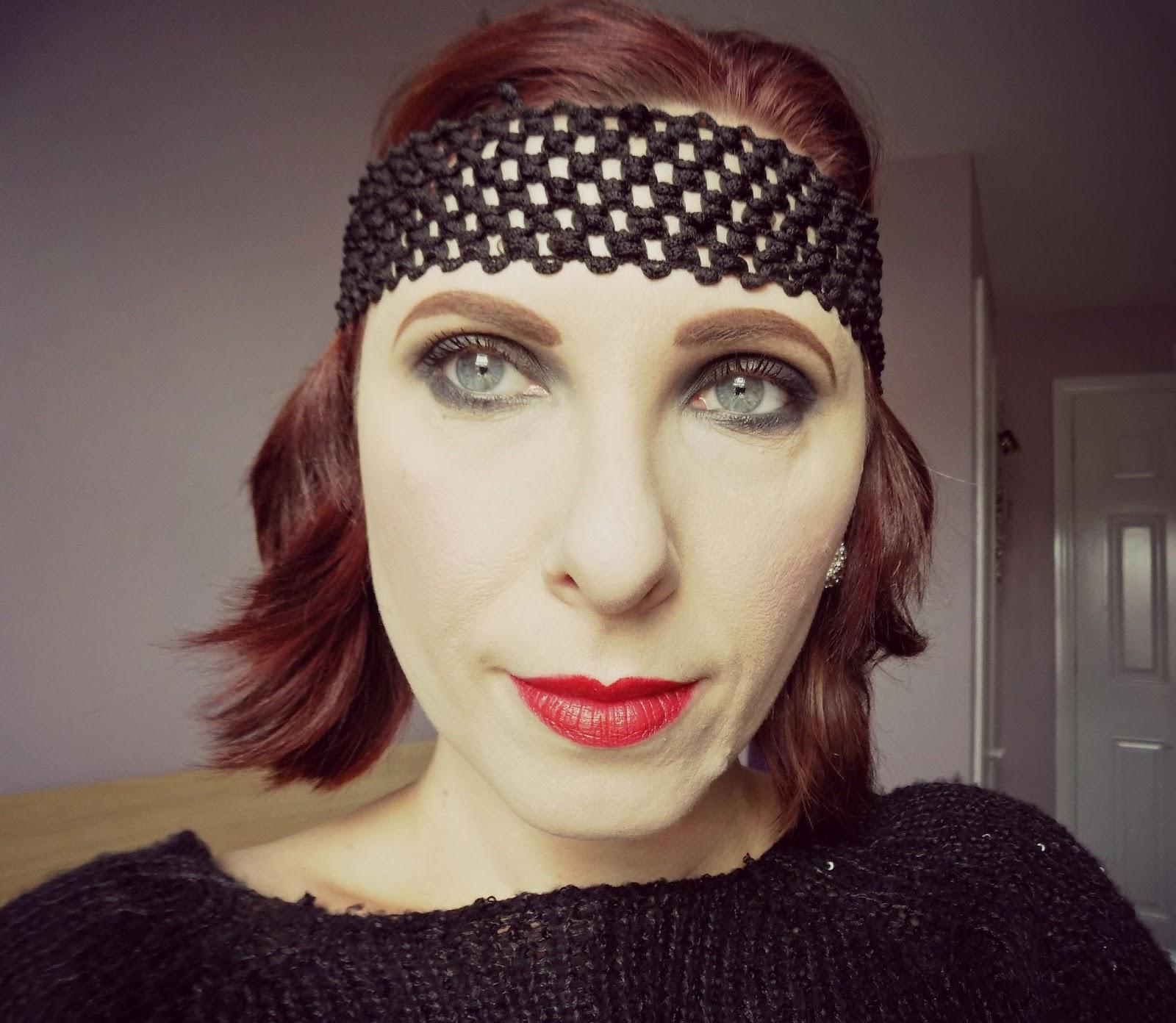 1920s makeup look