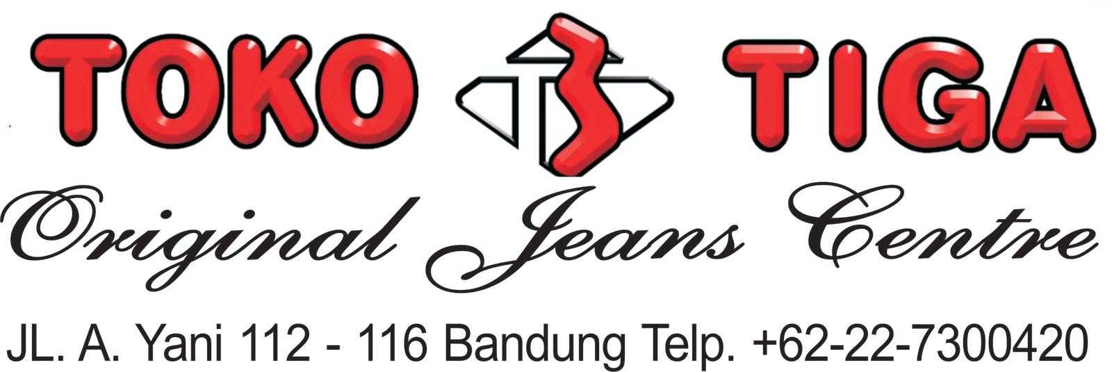Toko Tiga Bandung Original Jeans Centre