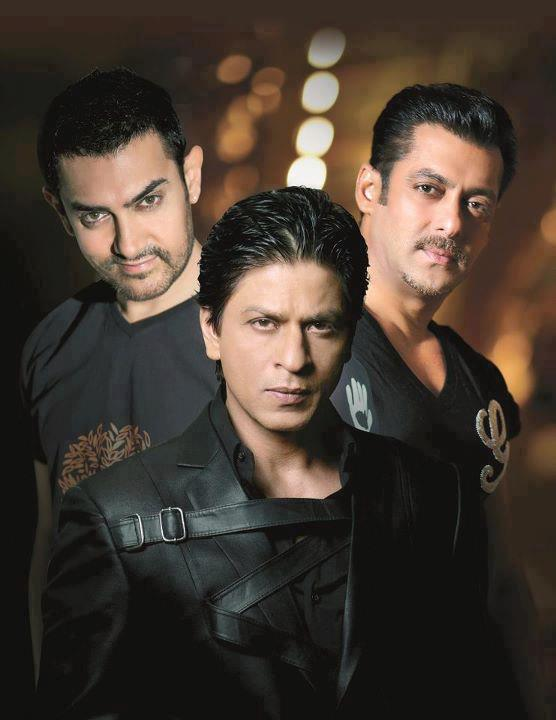 Three ( 3 ) Khans of Bollywood