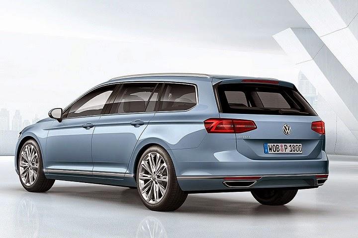 Volkswagen Passat station-wagon 2015