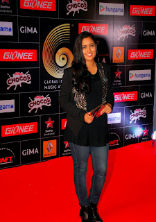 Bollywood Actress Celebrities Pictures at GIMA Awards Red Carpet  59.JPG
