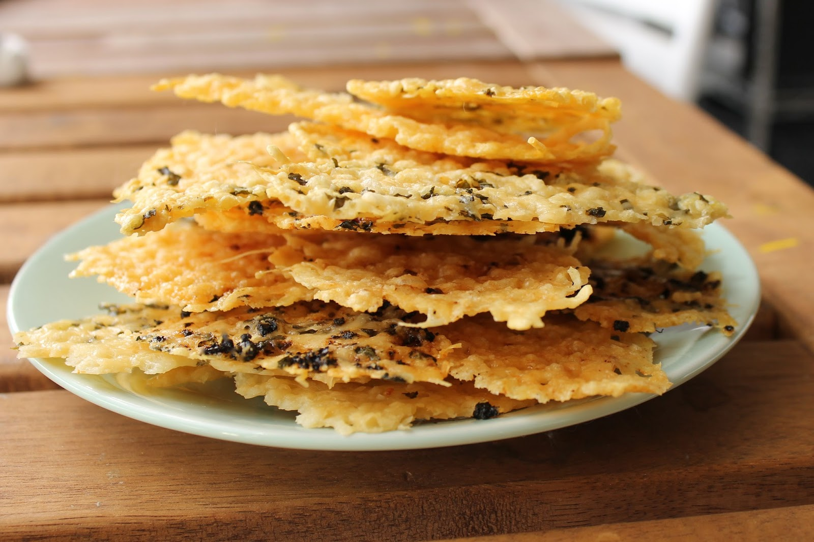 ... show you how to whip up some parmesan crisps yum parmesan crisps are