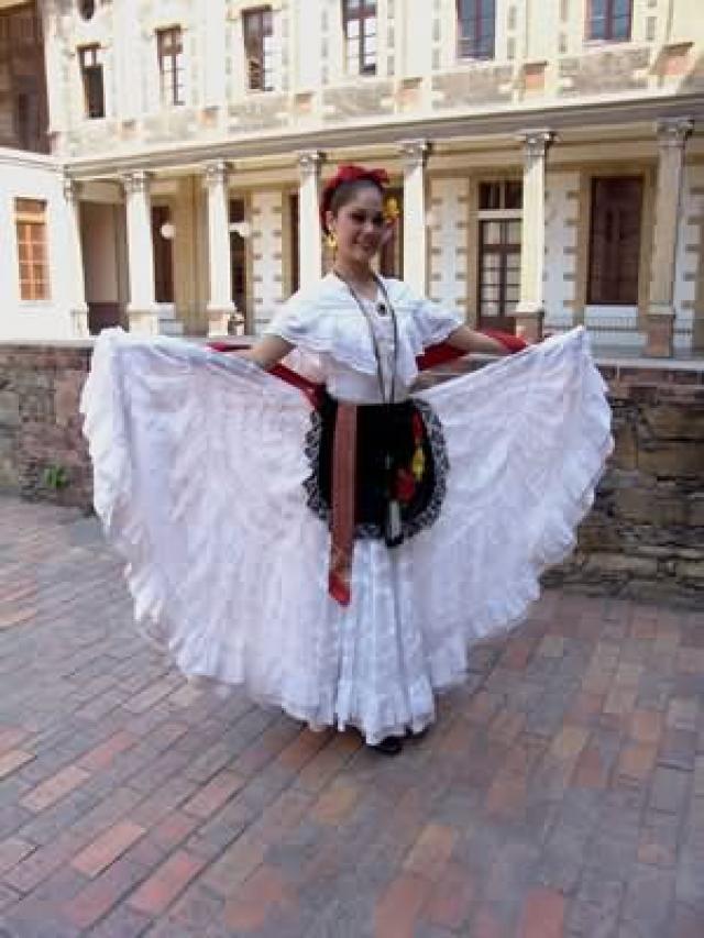 ... Vestuario típico de algunos de los estados de la Republica Mexicana