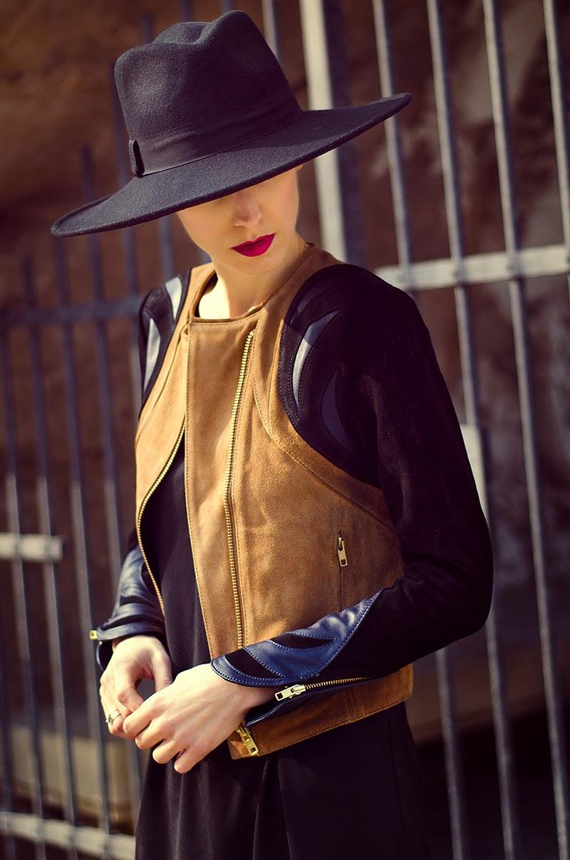 h&m suede jacket beeswonderland