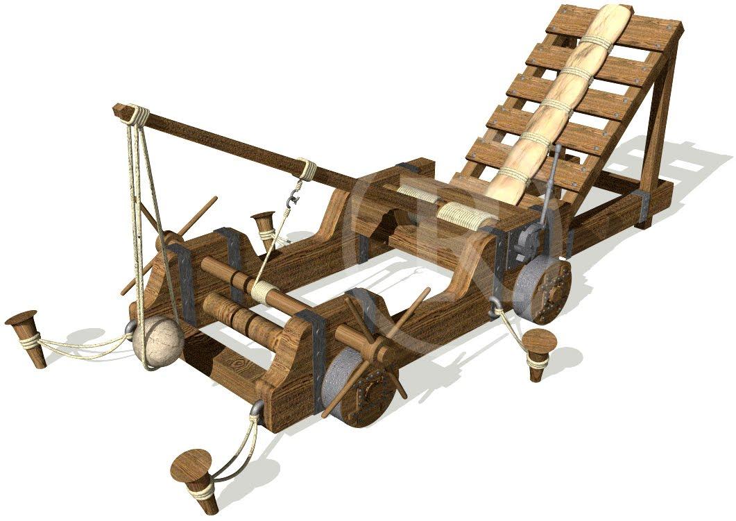 Tecnolog a siglo xxi dise o de catapultas for Diseno de interiores siglo xxi
