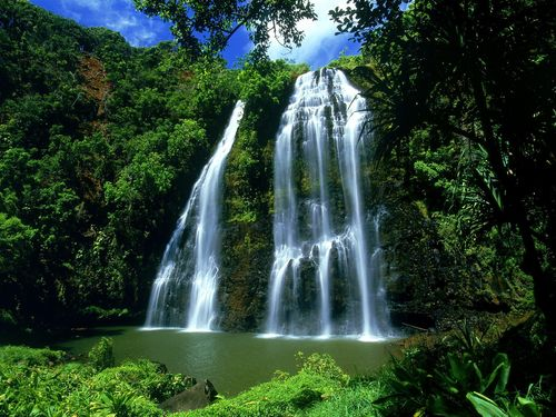 waterfall wallpapers. desktop wallpapers waterfalls.