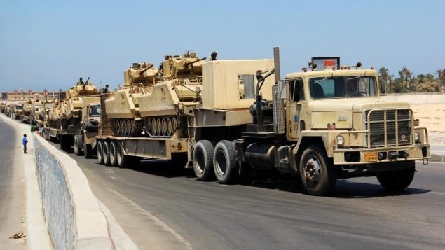 la proxima guerra ejercito egipto usara armas quimicas en el sinai frontera con israel