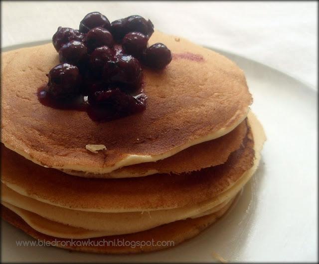 placuszki, pancakes, retro kuchnia, amerykańskie śniadanie