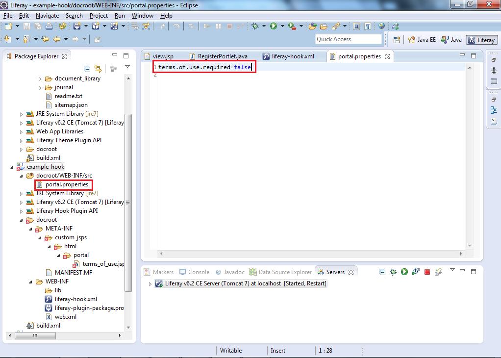 how to create meta inf folder