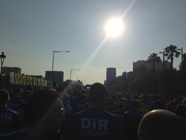 Cursa Dir Guàrdia Urbana Diagonal 2015