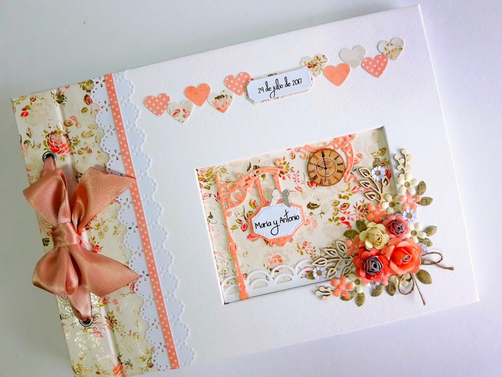 Album de firmas y fotos para boda 56