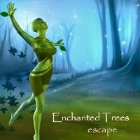 Juegos de Escape Enchanted Trees Escape