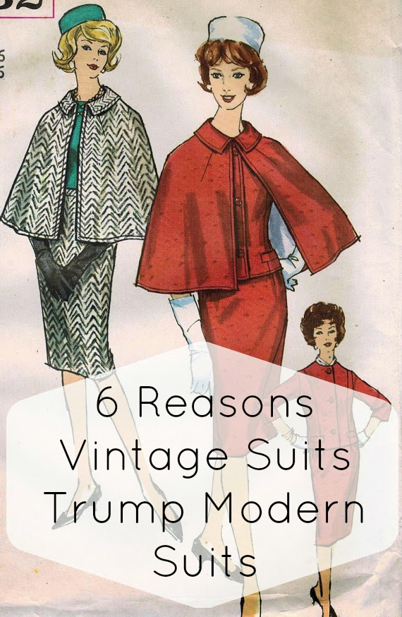 Flashback Summer: 6 Reasons Vintage Suits Trump Modern Suits - Midvale Cottage
