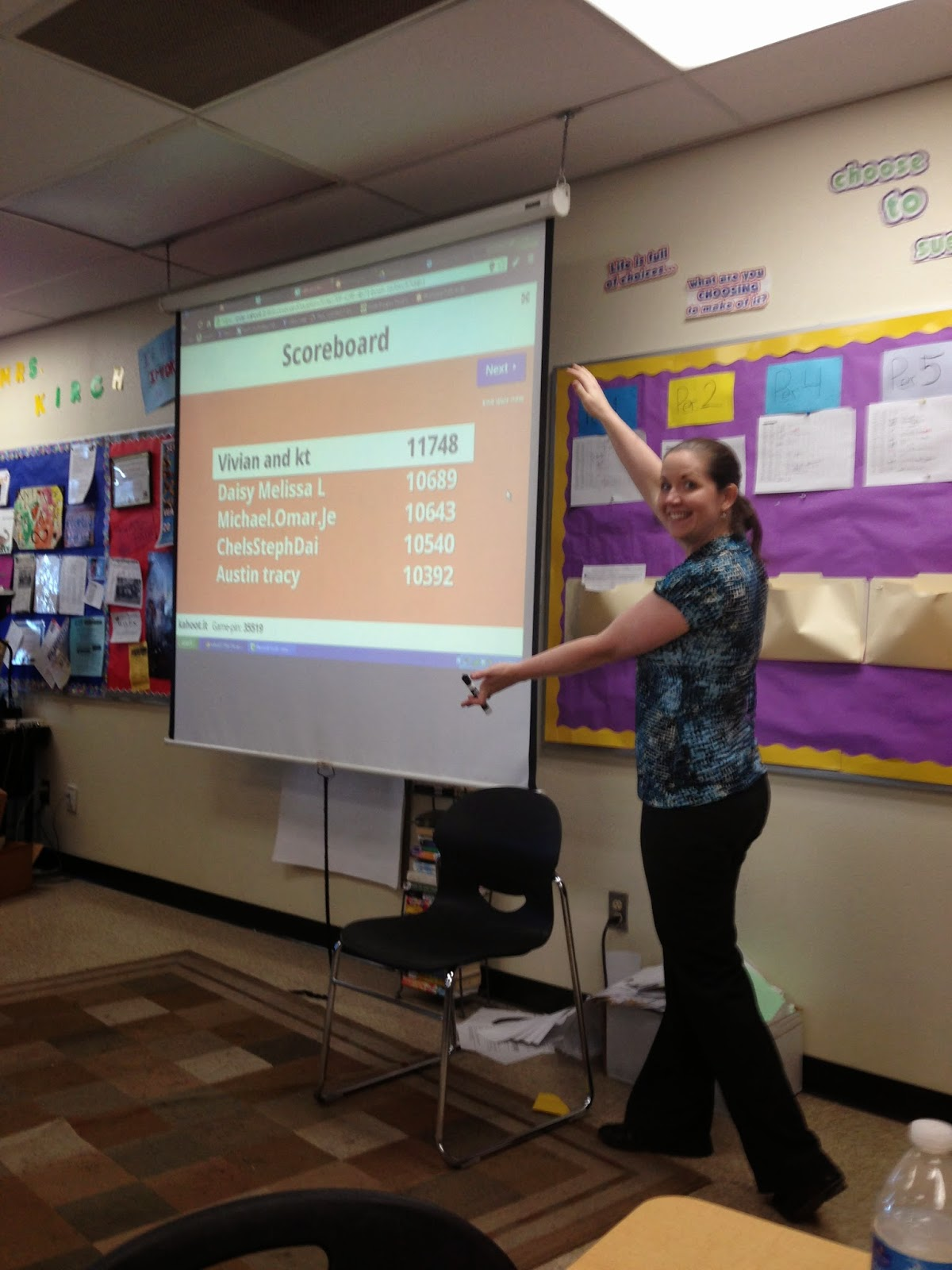 Collaborative Math Classroom ~ Flipping with kirch fun and collaboration kahoot