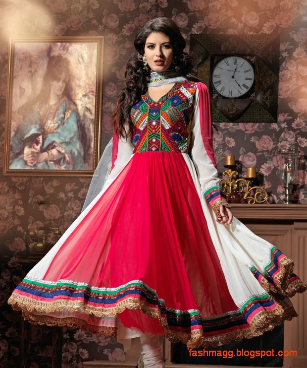 latest anarkali bridal dresses gown style
