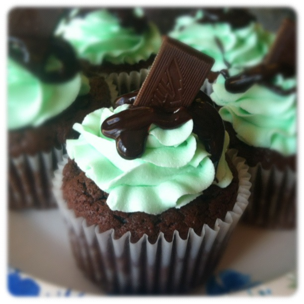 Andes Mint Cupcakes With Cake Mix