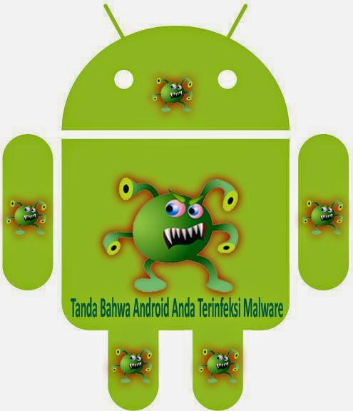 Tanda Bahwa Android Anda Terinfeksi Malware