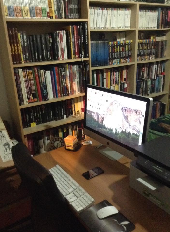 Il mio studio!